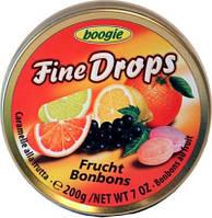 Леденцы Fine Drops Woogie со вкусом фруктовое ассорти