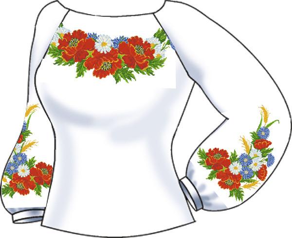 СВЖБ-3. Заготовка для вишивки бісером Жіноча сорочка.  продажа db1fba5594c45