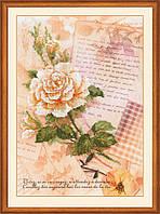 Набор для вышивания Риолис РТ-0035 Письма о любви. Роза