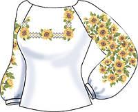 СВЖЛ-1. Заготовка для вишивки бісером Жіноча сорочка лляна. a0c01309e8326