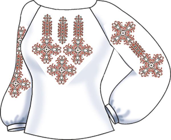 СВЖЛ-2. Заготовка для вишивки бісером Жіноча сорочка лляна.  продажа ... 44a3af064b1d0