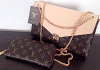 Сумка клатч Louis Vuitton Луи Виттон на цепочке , фото 1