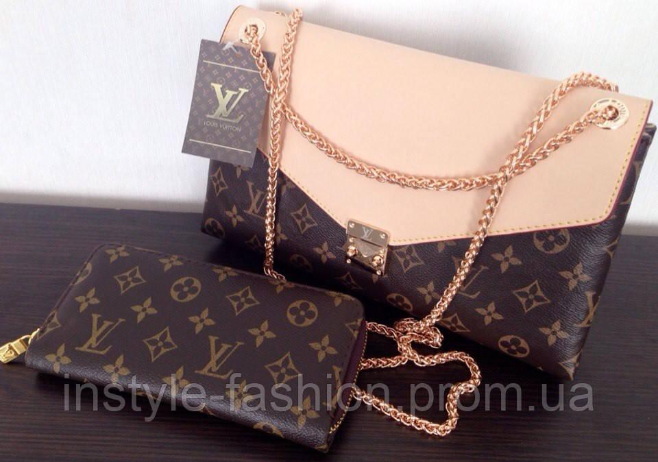 0eb46f477cd7 Сумка клатч Louis Vuitton Луи Виттон на цепочке - Сумки брендовые,  кошельки, очки,