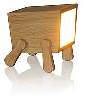 """Деревянная лампа """"Comfy Home"""" Tetra (натуральное дерево)"""