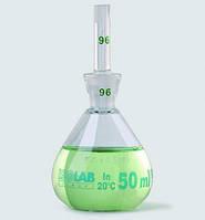Пикнометр, с калибровкой, боросиликатное стекло 3.3 Объем 100 мл