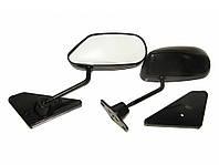 Зеркала наружные ВАЗ F2 Sport Black метал/черное