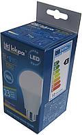 Лампа светодиодная Iskra LED 12W (аналог 80 Вт) цоколь E27 колба A60 3000K (желтый свет), фото 1