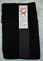 Пояс из собачьей шерсти экстра Inan № 6 Черный L / 50-52 Тянется в диаметре от 85 см - до 100 см
