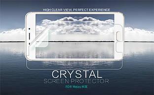 Защитная пленка Nillkin Crystal для Meizu M3e Анти-отпечатки