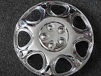 Колпаки на колеса диски для дисков Тайвань R13 80-733С хром  колпак