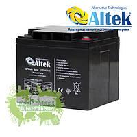 Аккумуляторная батаря для ИБП гелевая Altek 6FM45GEL