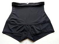 Корректирующие шорты с силиконовой лентой, чёрные