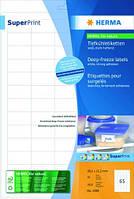 Этикетки для глубокой заморозки SuperPrint, белые Длина 38,1 мм Ширина 21,2 мм