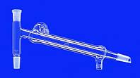 Насадки для дистилляции с холодильником Либиха и резьбой GL Шлиф 14/23 NS Длина 160 мм