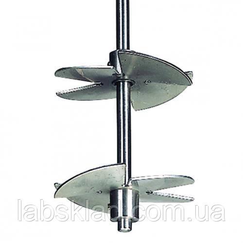 Перемішуючий ротор 2-лопатевий, нержавіюча сталь 1.4305