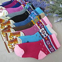 """Носки махровые для девочек (снежинка), 16-22 р. """"Свет"""". Детские  носки, носочки махровые  для детей , фото 1"""