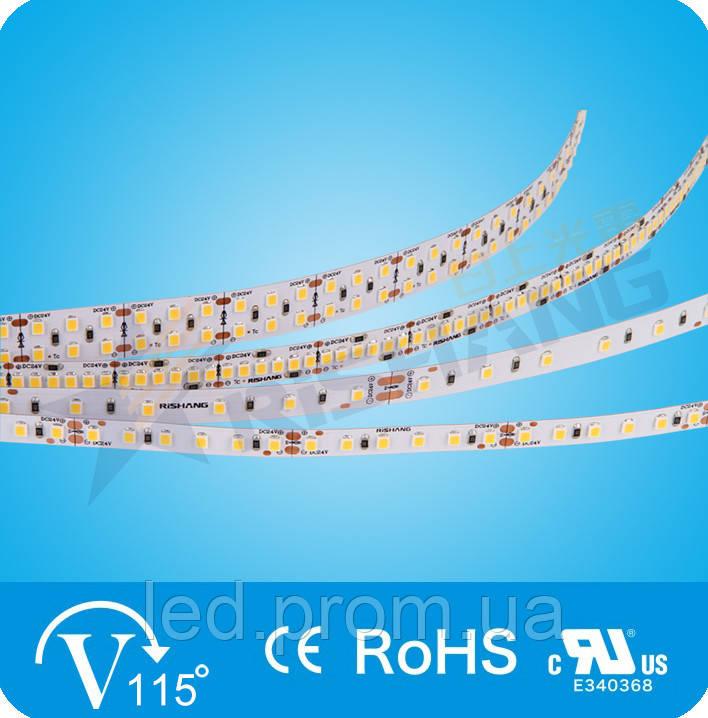 Светодиодная лента RISHANG 2835-120-24V-IP33 24,6W 3000K (RS00C0TC-A)