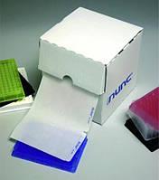 Пленки для герметизации для микропланшет MultiWell Тип 3) Материал Полиолефин Клей Акриловый Стерильные нет Цвет Прозрачный