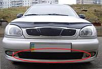 Зимняя накладка (матовая) Daewoo Lanos 1998- (бампер низ)