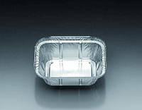 Алюминиевые контейнеры, прямоугольные Объем 250 мл Размеры(Ш x Д) 103x128 мм Размеры(Ш x Д) 67x93 мм Высотанаполнения 34 мм