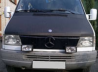 Зимняя защита радиатора Mercedes Sprinter TDI 1995-2000, Глянец