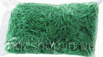 Резинка для денег 1кг(30*1.2*1.2мм)зеленая.