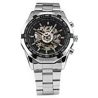 Мужские механические наручные часы Winner Time c автоподзаводом