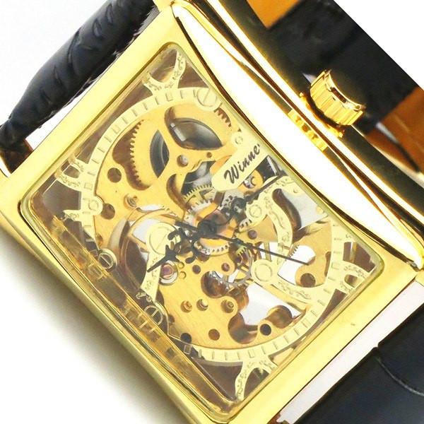 Механические мужские наручные часы Winner Quadro
