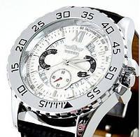 Мужские механические часы c автоподзаводом Winner White Moon