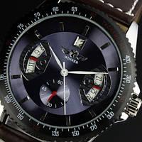 Мужские механические часы c автоподзаводом Winner Classic Purple