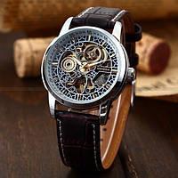 Мужские механические наручные часы SHENHUA с автоподзаводом