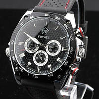 Мужские механические часы c автоподзаводом Fuyate Smart Black