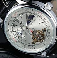 Мужские механические часы c автоподзаводом Fechi Tourbillon Moon