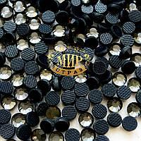 Crystalline эконом Hotfix Black Diamond ss16(4mm).Упаковка 100шт.