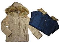 Куртка утепленная для девочек, 6, 8, 10, 12, 14, 16лет, F&D, арт. YY-2937