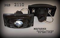 Линзы на ВАЗ 2110 (черные).