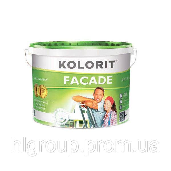 Фасад ЭКО краска KOLORIT, 10 л (4823046201622)