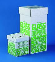 Коробки для утилизации разбитого стекла Описание Размеры(Ш´Д´В) 300 x 300 x 690 мм