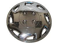 Колпаки на колеса диски для дисков Тайвань R13 80-373-2C хром  колпак