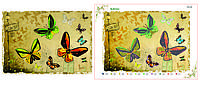 Схемы для вышивки бисером бабочки