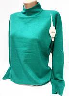 Теплая женская кофта батального размера 2310