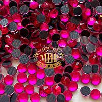 Crystalline эконом Hotfix  Super Pink ss16(4mm).Упаковка 100шт.