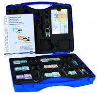 Портативные комплекты VISOCOLOR® для анализа на фотометре Тип Портативный аналитический комплект VISOCOLOR® SCHOOL