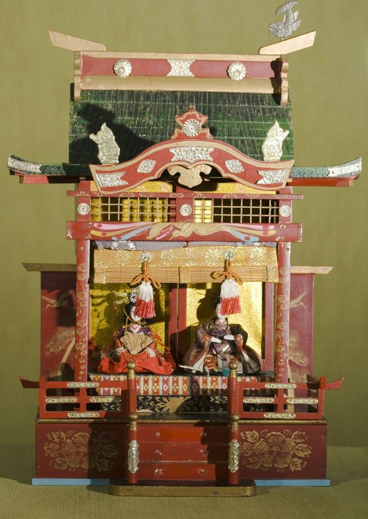 Кукольный дворец готен с императорской четой Тайсё- 1910 - годы