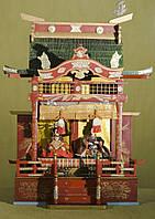 Кукольный дворец (готен) с императорской четой. Тайсё- 1910 - годы