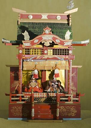 Кукольный дворец готен с императорской четой Тайсё- 1910 - годы, фото 2