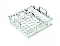 Неглубокие лотки для водяной бани со встряхиванием [EN]: Base tray, stainless steel perforated for OLS26/LSB18