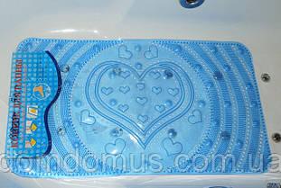 Антиковзаючий килимок для ванної, масажний 66*37
