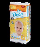 Подгузники Dada 3 (4 - 9 кг.) - 64 шт.