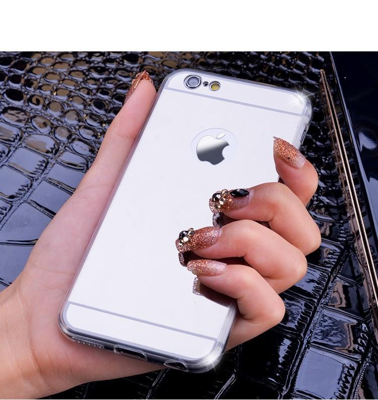 "Чехол зеркало Apple iPhone 6 / 6S 4.7"" Silver"